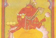 GAURI PUTRA VIGHNAHARTA 《 VINAYAKA 》 / My favourite Lord Ganesha / by Kanchan Vyas