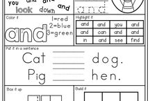 Sight words and CE words