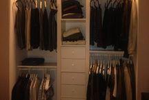 Rangement garde robe chambre