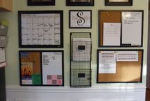 wall organization ideas / by Anne Judge