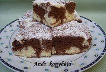 Sütemények / Sütemények receptjei