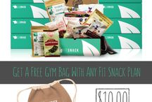 Sales / Sales and deals for Fit Snack, a monthly subscription box of curated healthy snacks!