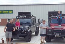Visitors and their 4 wheel drives to Devon 4x4