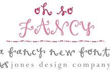I LOVE fonts!