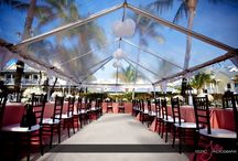 Tents / Eventfully Yours Rentals - Products and Services. A great addition to your event. A tent not only serves as protection from the elements, but also can serve as a design aesthetic that can add character to your Key West wedding or event. Our tents can be customized to fit an event. We are proud to offer the following tents styles: tradition, tension and clear.