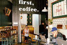 Coffee, Cafes, Caffeine