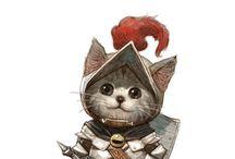 Kitten Knights