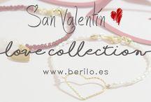 San Valentín / Colección de pulseras y gargantillas para San Valentín