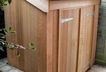 kültéri szekrény