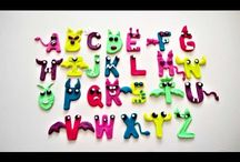 Play Doh Alphabet