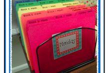 Organization for School / by Lori Garrett