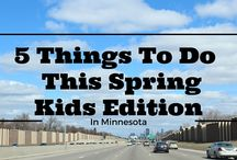 Spring in Minnesota / Things to do on your Weekend Getaway in Minnesota during Spring. Your MN Bucket List will be filled with adventure. Visiting MN State Parks to seeing a Maple Syrup Tapping, spring is the best time see MN!