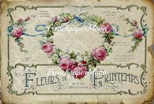 transfer vintage printable templates