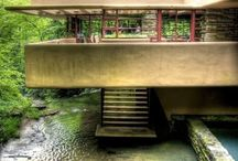 Frank Lloyd Wright was a genius... / by Sally Calvin
