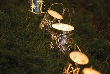 Teelicht aus Büchsen