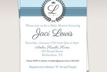 Blue Prince Provence Baby Shower Ideas