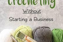 Crochet to teach/share