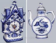 Gzhel /  Gzhel is the cradle and the main centre of Russian ceramics. It formed its best features and manifested the highest achievements of folk art.