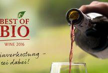 Best of Bio Wine 2016 / Vom 24. bis 26.6.2016 machen wir uns wieder auf die Suche nach den besten Bio-Weinen und Sie können dabei sein.  Nicht wie bei anderen Weinpreisen üblich verkostet keine Fachjury sondern passionierte WEINLIEBHABER & GENUSSMENSCHEN. Mit fachkundiger Anleitung eines Diplom-Sommeliers werden die Weine nach Klassen geordnet, geschmeckt, gekostet & prämiert. Wenn Sie beim Verkostungs-Wochenende in Augsburg dabei sein möchtest, hier gibt's nähere Informationen: http://biohotels.info/bestofbio