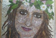 Mosaic / My own mosaic works and works of other artists who inspire me