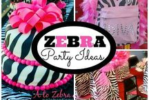 Zebra Party Ideas / A great party theme for 30th 40th or any age