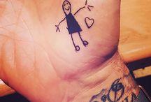 Tattoos: Beckham