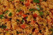 bulgur, quino,couscous....