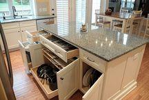 Kitchen design & storage ideas