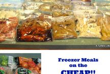 Freezer Meals & Cost Cutting / by Chasity Ferguson