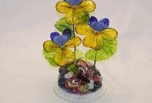 желатиновые цветы