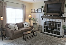 Living room - spaces / by Jackie McIntyre