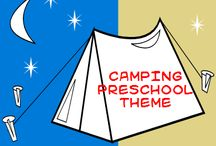 camping preschool / by Jennifer Meizen