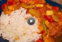 Pasta en rijst gerechten