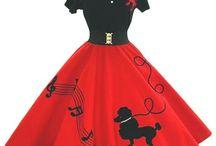 1950 rockin red