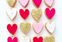 Cookie love / Sweet, pretty cookies to share with your loves. Perfect for special events and celebrations. Custom orders available through Love Bites http://lovebiteslifestyle.bigcartel.com