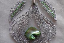 šperky - paličkované