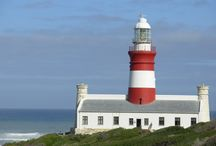 Lighthouses - South Africa / Let HOPE be your lighthouse, beckoning you through stormy seas. - Jessica de la Davies