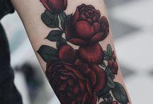 tatuaje rosas