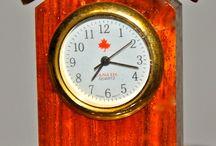 Collectible Mini Clocks / A selection of Mini Clocks from: www.ExoticTreasurers @ msn.com,