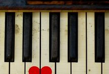 painted pianos / by bridget edwards {bake at 350}