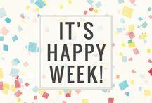 """Happy week""... / Happy tuesday 18/11 20% off @ t-shirts, tees, tops..."