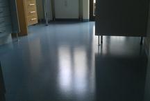 Aufbereitung - Grundreinigen von  Linoleum / PVC Böden
