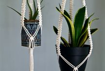 macramé plantes