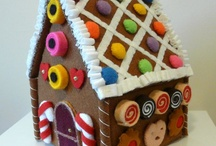 gingerbread house sewn