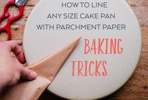 Cake tin lining