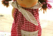 dolls/waldorf/clay / dolls