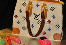Purses and shoe cakes / 3D edible purses and shoes