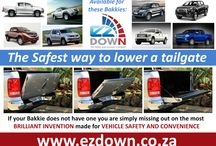 EZDown-Hydraulic Tailgate Damper / The Safest way to lower a tailgate