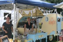 Food trucks on the Gold Coast / We've handpicked our favourite food trucks to hire for your Tipi Wedding