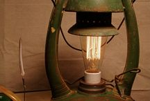 Lighting - upcycled from old unloved pieces